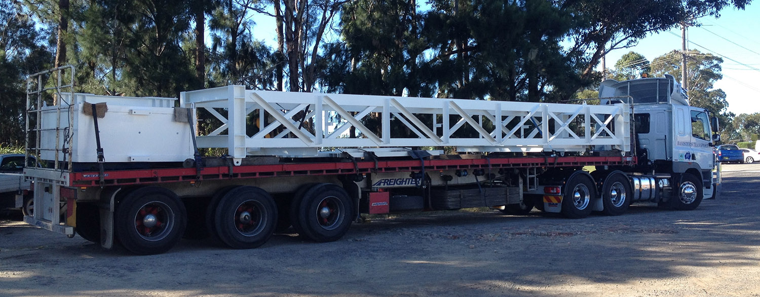 Mine Gantry ready for delivery